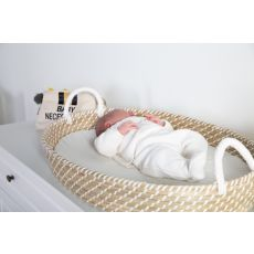 Basket Changing Unit (With Mattress) - 73x50 Cm - Straw