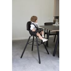 Evolu 2 High Chair - Adjustable In Height (50-75 Cm/*90 Cm) - Black