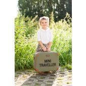 Mini Traveller Kinderkoffer - Canvas - Khaki