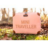 Mini Traveller Kids Suitcase - Pink Copper