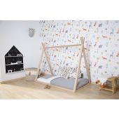 Tipi Bed - 70x140 Cm - Wood - Natural