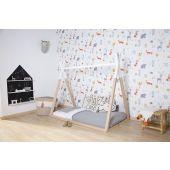 Tipi Bed - 70x140 Cm - Hout - Naturel Wit