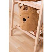 Opbergmand - 30x30x30 Cm - Teddy - Beige