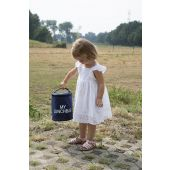 My Lunchbag - Met Isolerende Voering - Navy Wit