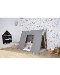 Tipi Bed Cover - 70x140 Cm - Grey