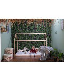 Stehende Elefant Stofftier - 90x50x75 Cm - Grau