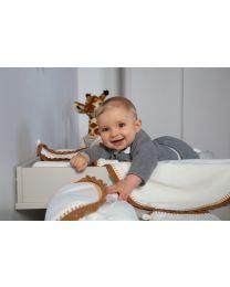 Verzorgingsmat Engel - Jersey - Crochet Ecru