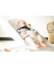 Evolux Bouncer Cover - Jersey - Gold Dots