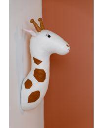 Tierkopf Giraffe - Filz - Wanddekoration
