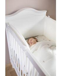 Romantic White - Cot Bed - 70x140 Cm