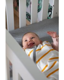 Baby Schlafsack Sommer - 70-90 Cm - Jersey - Ochre Stripes