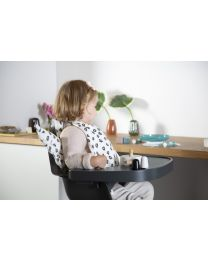 Evolu One.80° High Chair - Adjustable In Height (50-75 Cm/*90 Cm) - Natural Anthracite