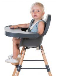 Evolu 2 Kinderstoel - Verstelbaar In Hoogte (50-75 Cm/*90 Cm) - Naturel Antraciet