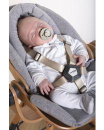 Evolu Newborn Coussin Reducteur - Jersey - Gris
