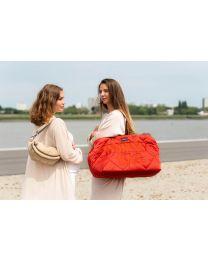 Mommy Bag Verzorgingstas - Gewatteerd - Rood