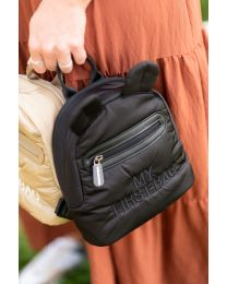 My First Bag Kinderrugzak -  Gewatteerd - Zwart