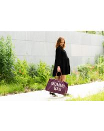 Mommy Bag Verzorgingstas - Aubergine