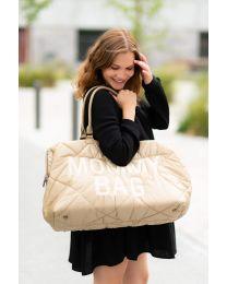 Mommy Bag Verzorgingstas - Gewatteerd - Beige