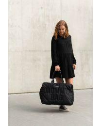 Mommy Bag Verzorgingstas - Gewatteerd - Zwart