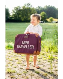Mini Traveller Kinderkoffer - Aubergine