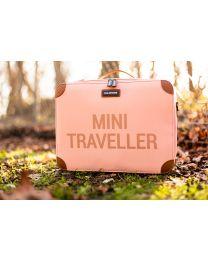 Mini Traveller Kinderkoffer - Roze Koper
