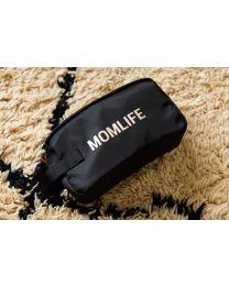 Momlife Toilettas - Zwart Goud