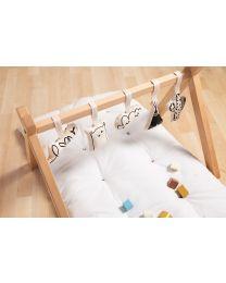Tipi Play Baby Gym - Wood - Natural