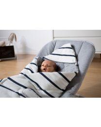 Baby Wrapper Universal - 75x75 Cm - Jersey - Marin