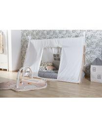 Tipi Bed Cover - 90x200 Cm - White