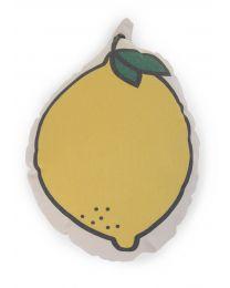 Coussin Décoratif - Toile - Citron
