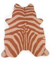 Kindertapijt Zebra - 145x160 Cm - Nude