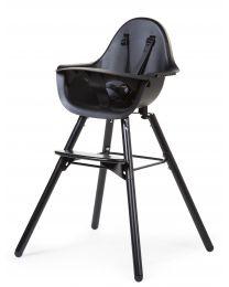 Evolu 2 Kinderstoel - Verstelbaar In Hoogte (50-75 Cm/*90 Cm) - Zwart