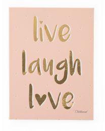 Oil Painting - Live Laugh Love - 30x40 Cm