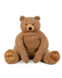 Peluche Assis Ours - 100x85x100 Cm - Teddy