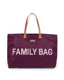Family Bag Verzorgingstas - Aubergine