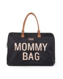 Mommy Bag Wickeltasche - Schwarz Gold