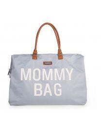 Mommy Bag Nursery Bag - Grey Off White