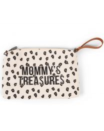 Mommy's Treasures Clutch - Leopard