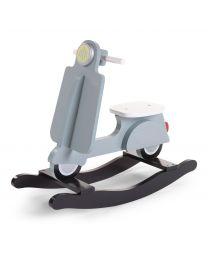 Schaukelscooter - MDF - Mint Blau Schwarz