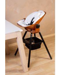 Evolu Newborn Seat For Evolu 2 + One.80° - Bois - Noye/Noir