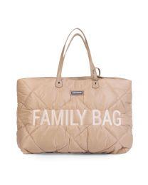 Family Bag Verzorgingstas - Gewatteerd - Beige