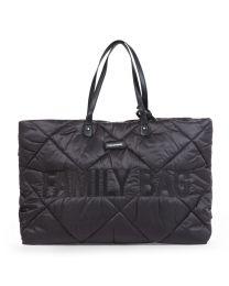 Family Bag Verzorgingstas - Gewatteerd - Zwart