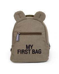 My First Bag Kinderrugzak - Canvas - Kaki