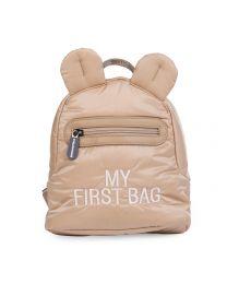 My First Bag Kinderrugzak - Gewatteerd - Beige