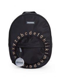 Kids School Backpack ABC - Black Gold