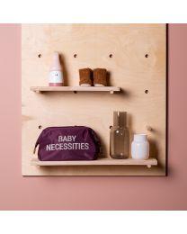 Baby Necessities Toilettas - Aubergine