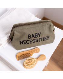 Baby Necessities Toilettas - Canvas - Kaki