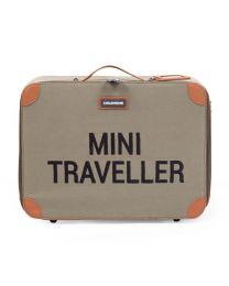 Mini Traveller Kinderkoffer - Canvas - Kaki