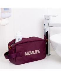 Momlife Toilettas - Aubergine