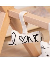Baby Gym Toys - Canvas - Set Of 5